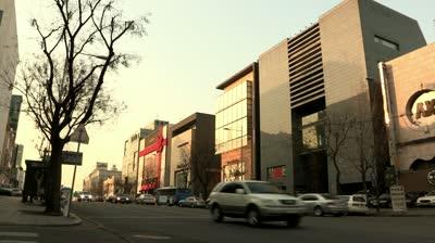 Cheongdam-dong fashion street