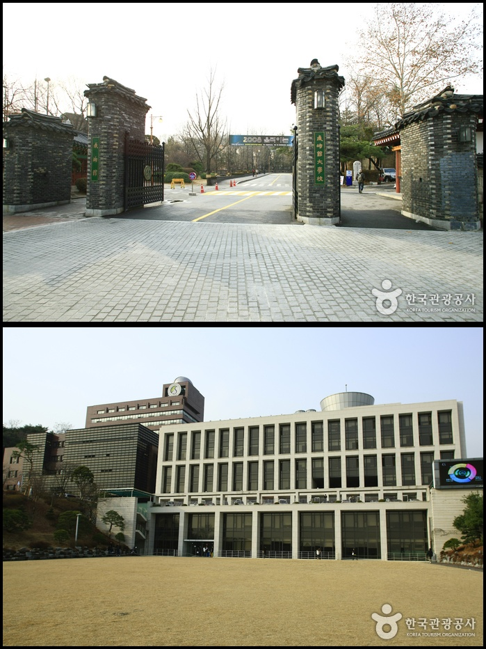 kampus Sungkyunkwan University di Seoul