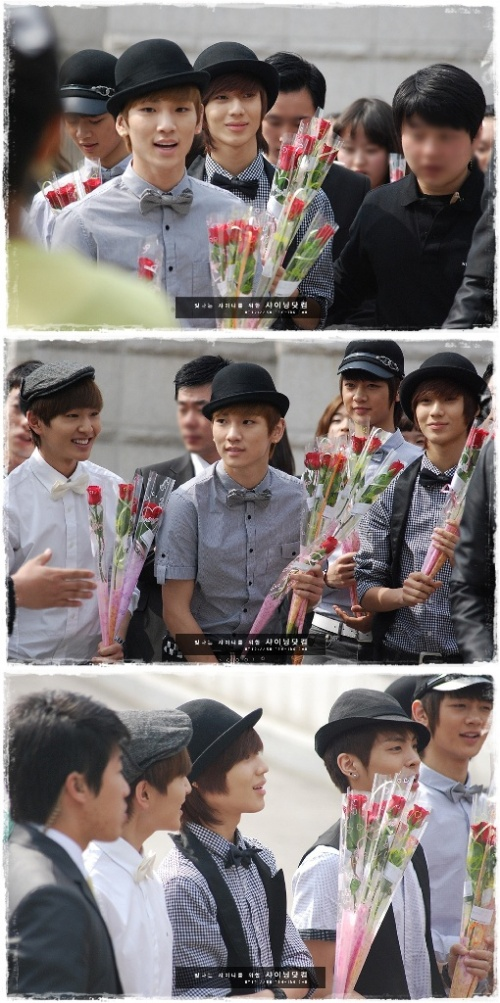 SHINee at Rose Day Event in South Korea