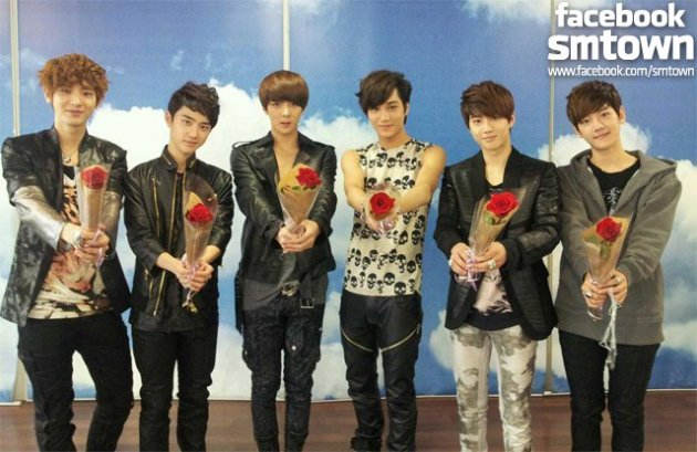 EXO-K at Rose Day Event in South Korea