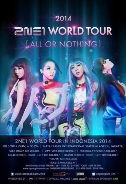 2NE1 AON Indonesia