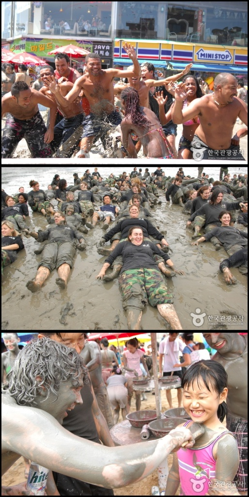 Boryeong Mud Festival (photo source : KTO)