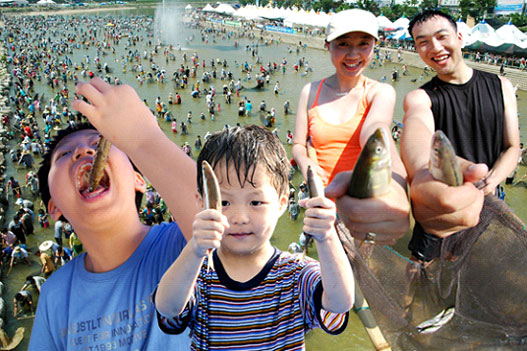 Bonghwa Eun-uh (Sweet Fish) Festival