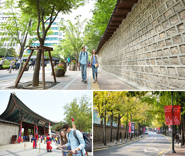 Deoksugung Doldam-gil, Seoul (photo source credit to : KTO)