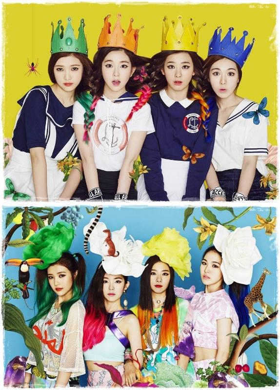 Red Velvet (photo source : Red Velvet Official Fanpage)