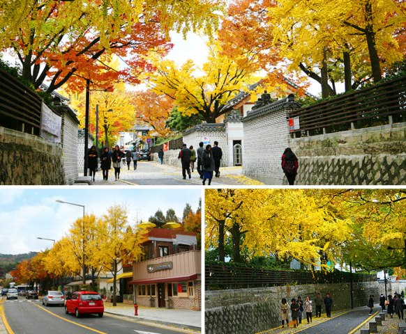 Samcheongdong-gil street (photo source credit to : KTO)