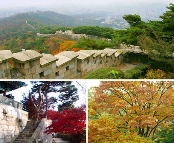 Bugaksan Mountain Fortress Wall (photo source credit to : Korea Culture Heritage Foundation / KTO)