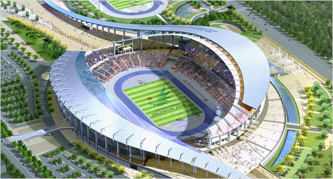 Incheon Asiad Main Stadium (photo source credit to : incheon2014apg)