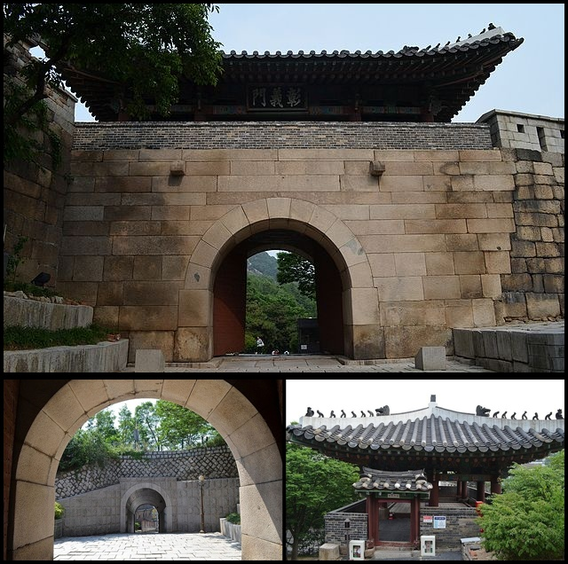 Changuimun gate, Seoul (photo source credit to : Wikipedia)