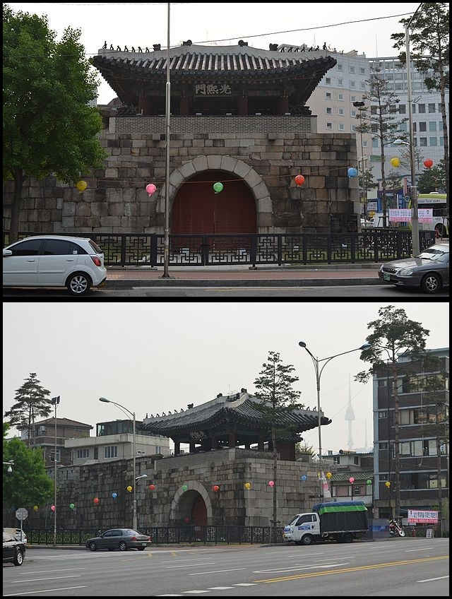 Gwanghuimun gate, Seoul (photo source credit to : Wikipedia)