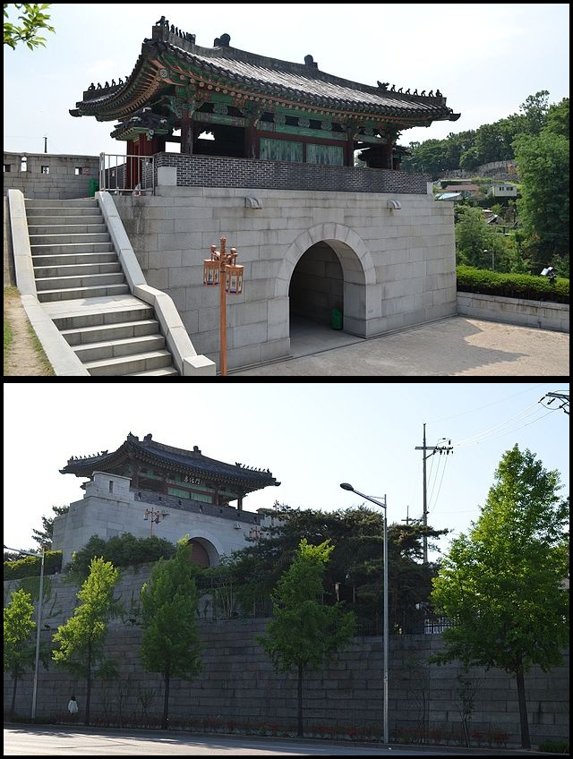 Hyehwamun gate, Seoul (photo source credit to : Wikipedia)