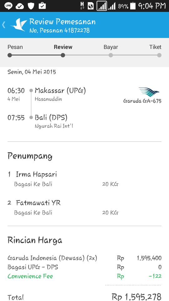 Makassar to Bali