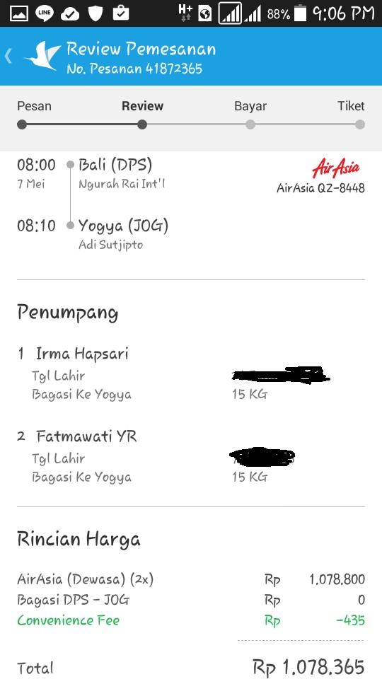 Bali to Yogyakarta