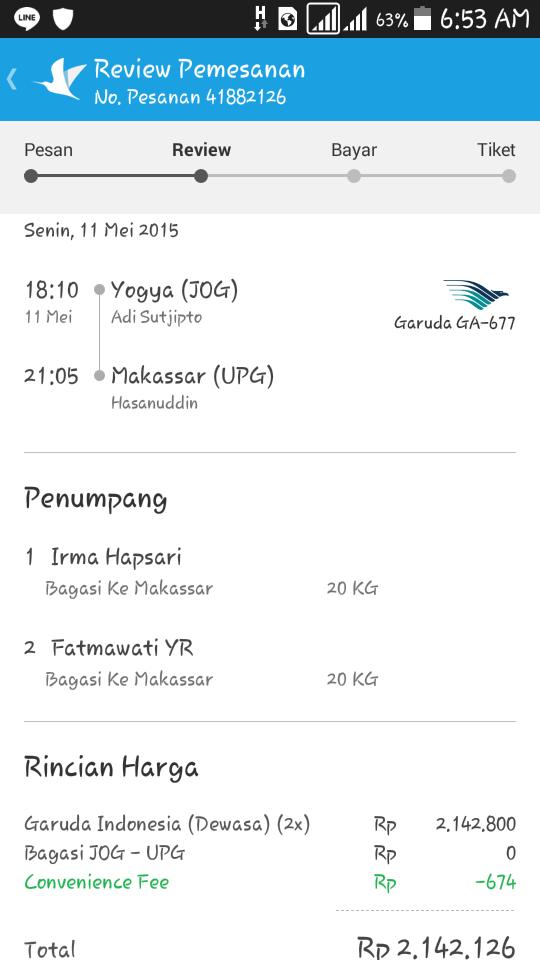 Yogyakarta to Makassar