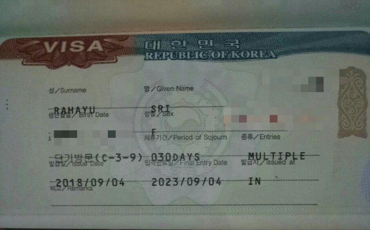 Pengalaman Membuat Visa Korea Selatan Untuk Freelance